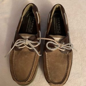 Sperry Top Sider Stingray 2Tone Brown 11 M